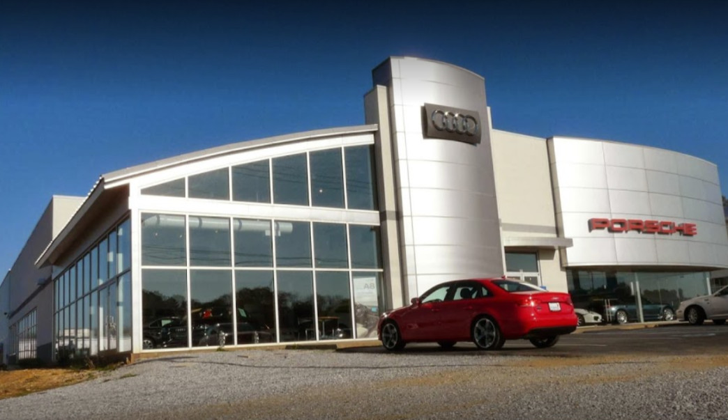 Audi service center in Montgomery, Alabama