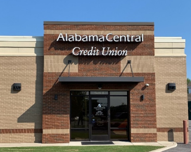 Alabama Central CU Branch downtown florence