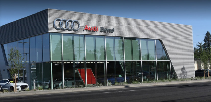 Audi Service Center in Bend, Oregon, USA