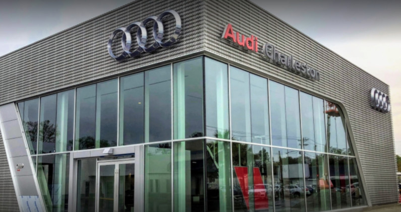 Audi Service Center in Charleston, West Virginia, USA