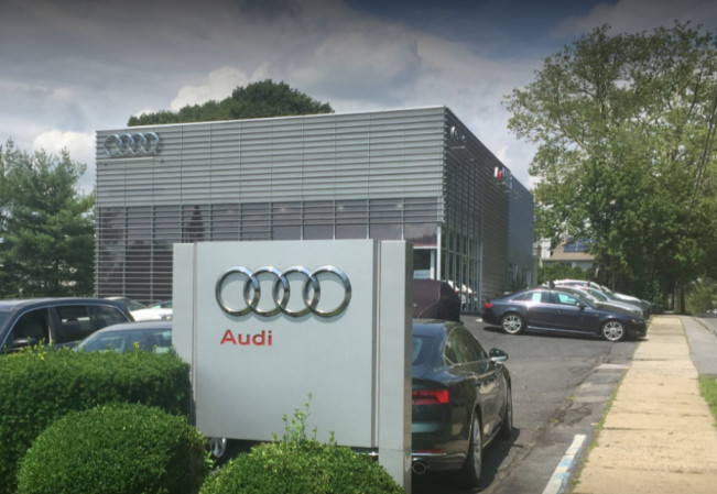 Audi Service Center in Eastchester, New York, USA