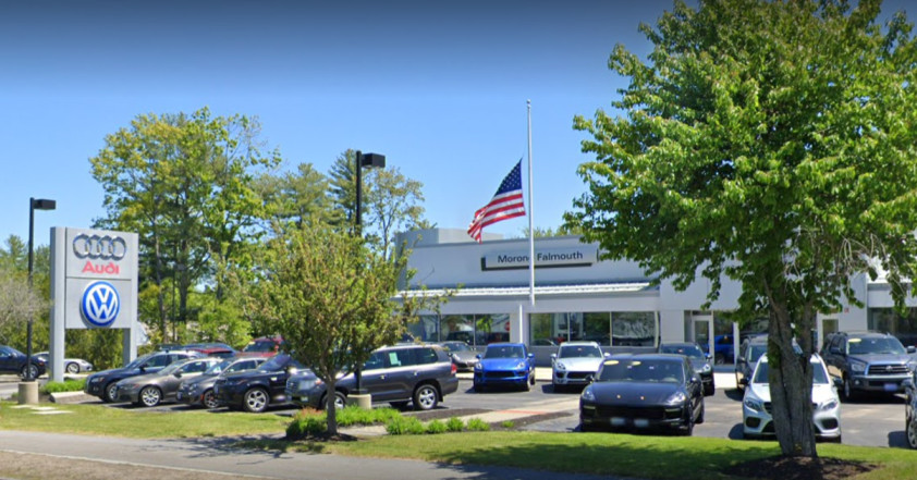 Audi Service Center in Falmouth, Maine, USA