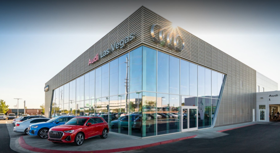 Audi Service Center in Las Vegas, Nevada, USA
