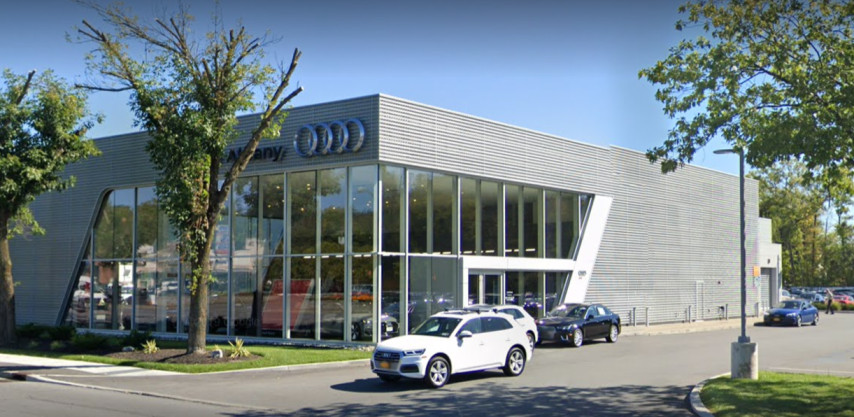 Audi Service Center in Latham, New York, USA