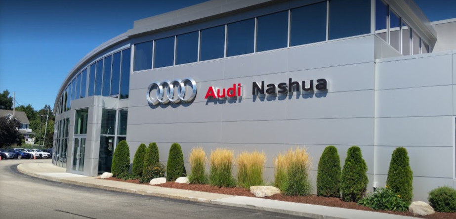 Audi Service Center in Nashua, New Hampshire, USA
