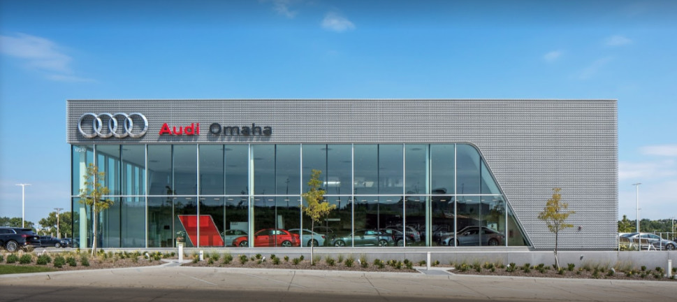 Audi Service Center in Omaha, Nebraska, USA