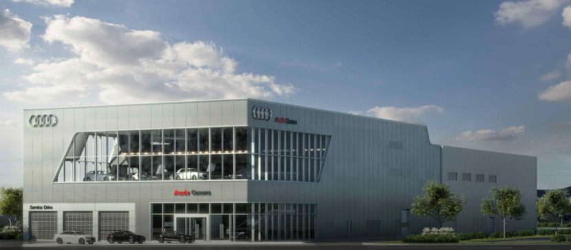 Audi Service Center in Queens, New York, USA