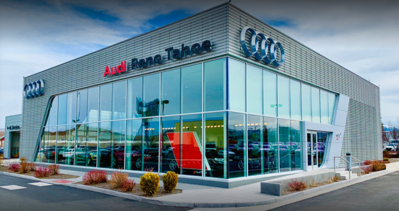 Audi Service Center in Reno, Nevada, USA