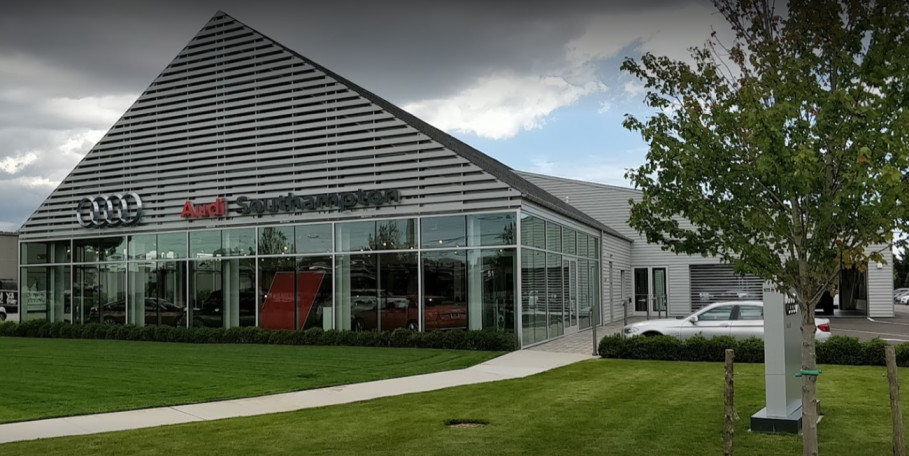 Audi Service Center in Southampton, New York, USA