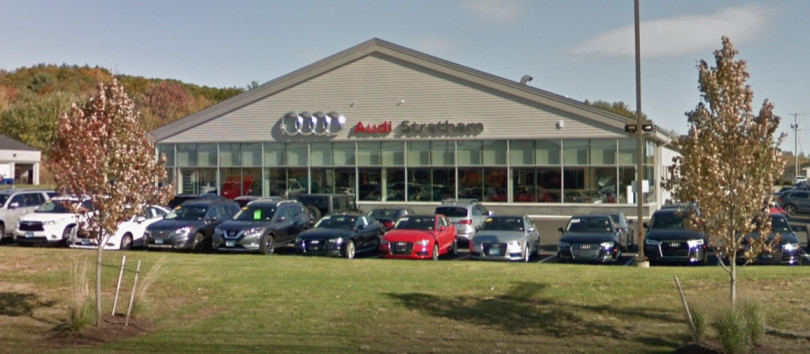Audi Service Center in Stratham, New Hampshire, USA