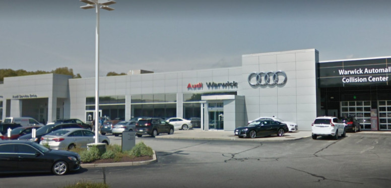 Audi Service Center in Warwick, Rhode Island, USA