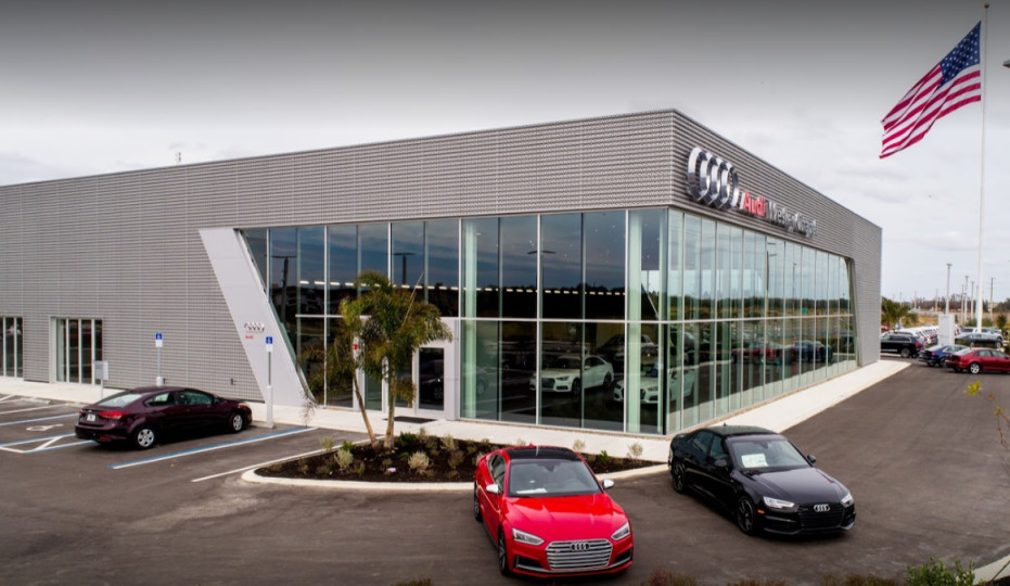 Audi Service Center in Wesley Chapel, Florida