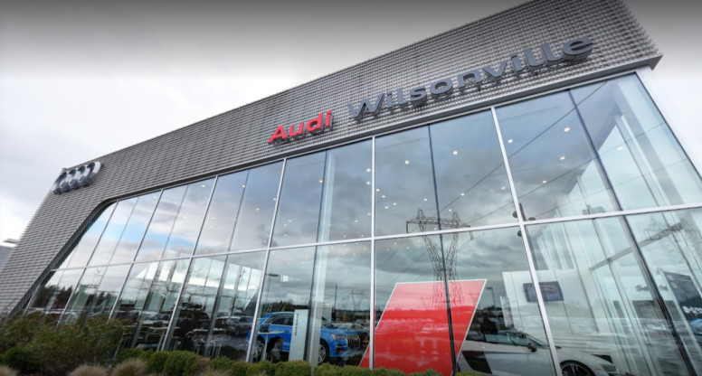 Audi Service Center in Wilsonville, Oregon, USA