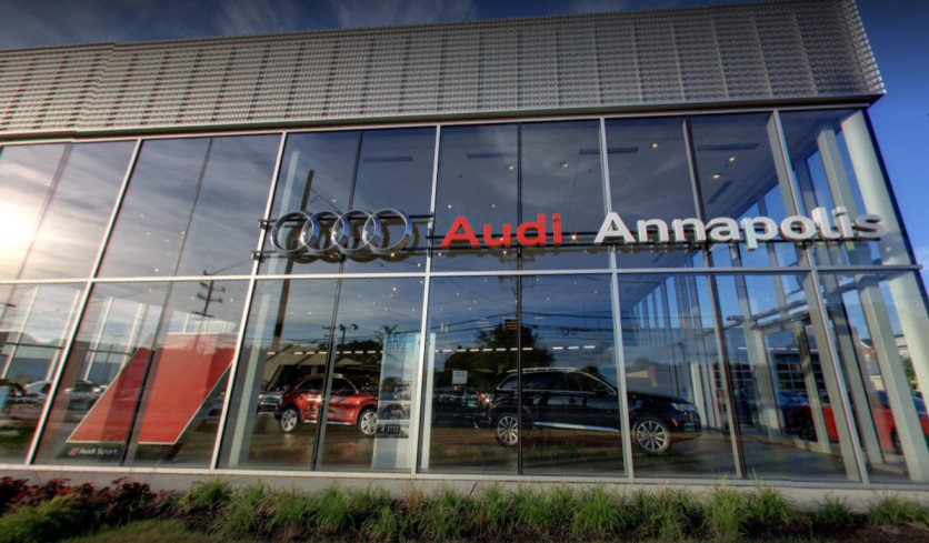 Audi Service and Collision repair center in Annapolis, Maryland