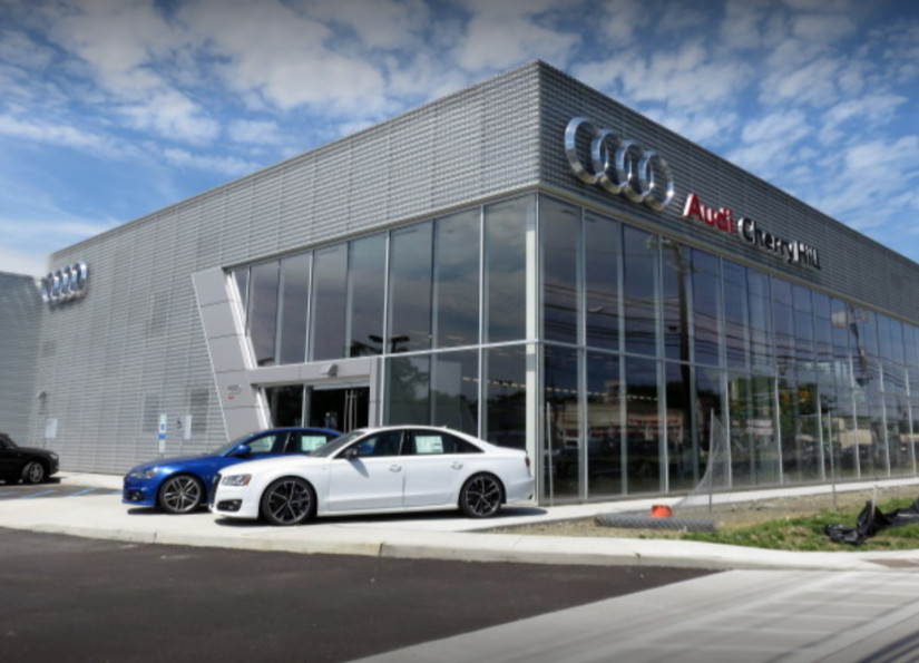 Audi Service center in Cherry Hill, New Jersey