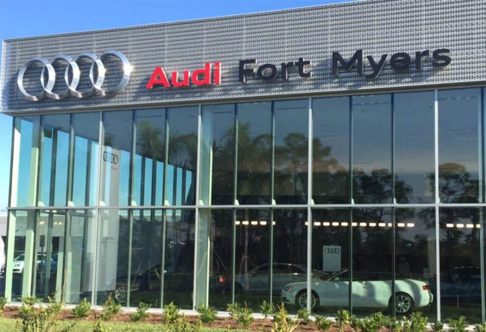 Audi Service center in Fort Myers, Florida