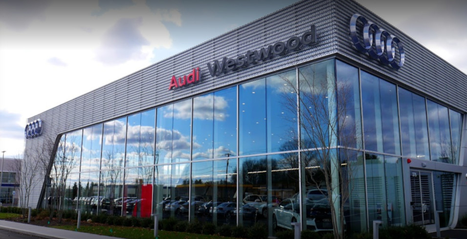 Audi Service center in Westwood