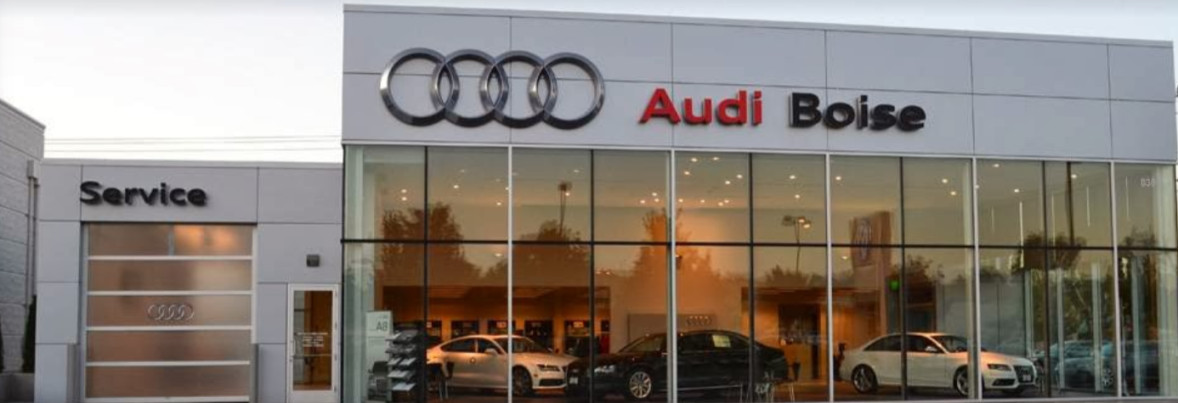 Audi service center in Boise, Idaho