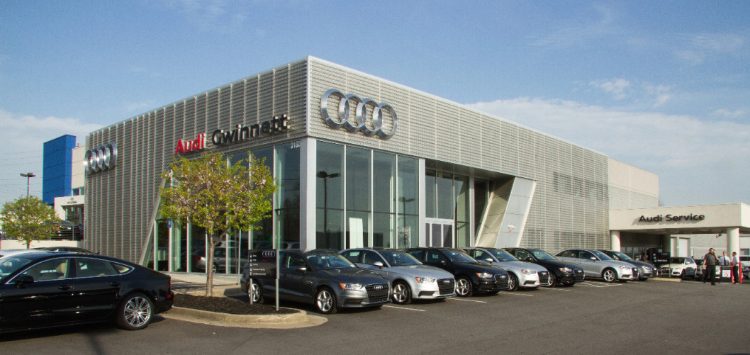 Audi service center in Duluth, Georgia
