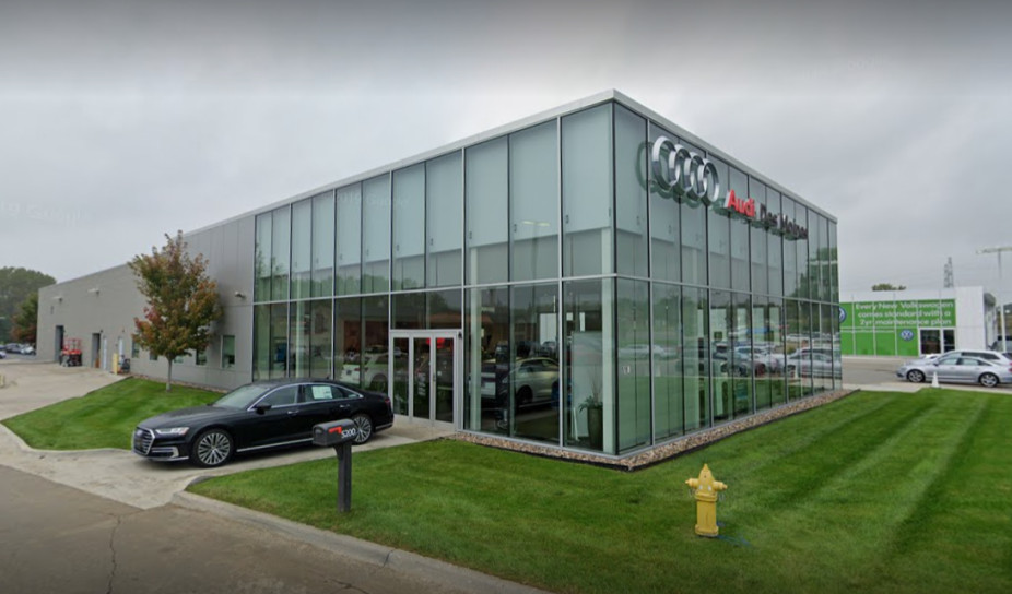 Audi service center in Johnston, Iowa