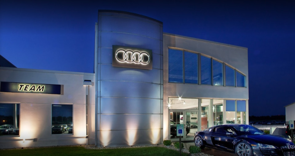 audi service center in Merrillville, Indiana
