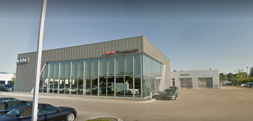 Audi Service and Parts Center in Milwaukee, Wisconsin, USA