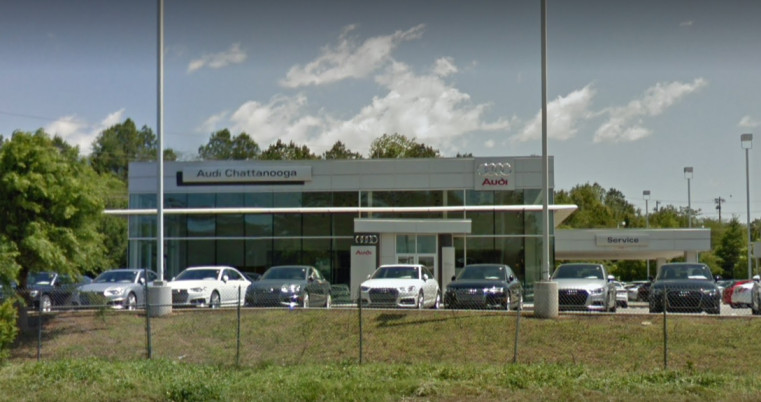 Audi service center in Chattanooga, Tennessee, USA