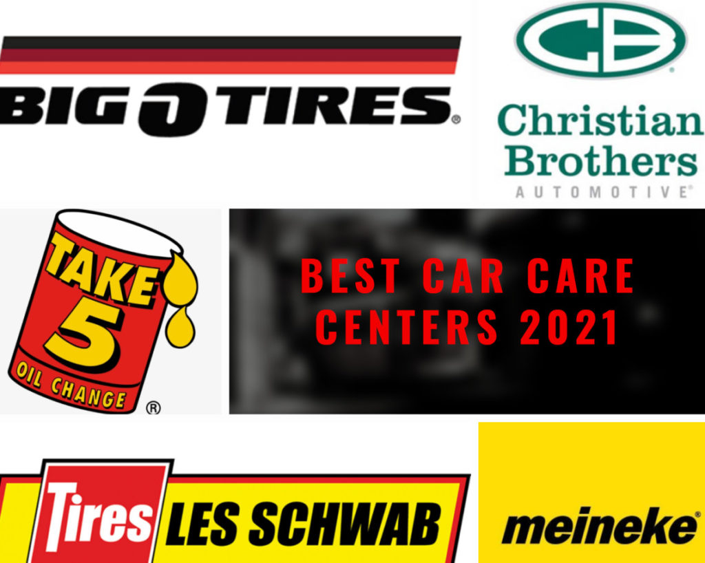 Best Auto Repair, Oil Change and Tire Replacement Facilities in the U.S.