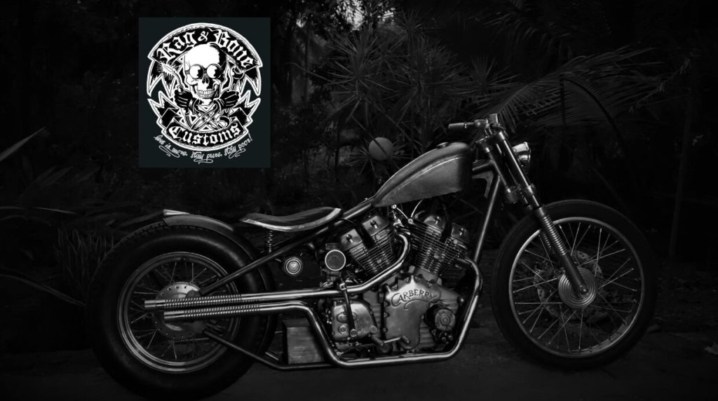 CARBERRY - Modified Enfield by Rag & Bone Customs Goa