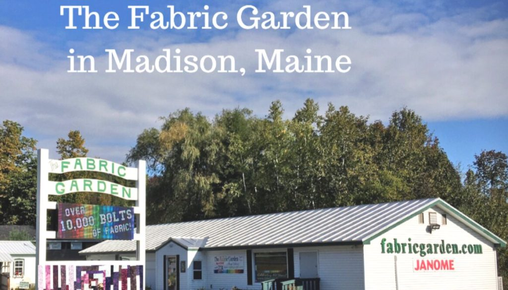 The Fabric Garden - Authorized Janome Dealer & Service Center in Madison, Maine