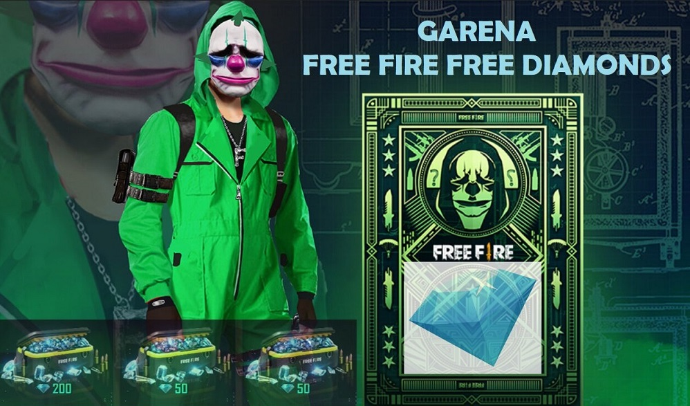 How to get free diamonds in Garena Free fire Mobile game